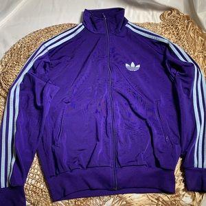 Adidas retro track jacket size M